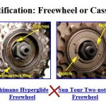 Freewheel vs Freehub