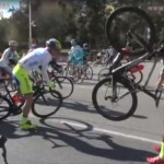 Video – Riders Blown Off Bikes Due To High Winds