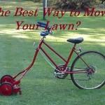 Bike Lawn Mower