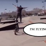 Standing On Handlebars – Ridiculous!