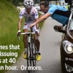 How To Fix A Bike In The Tour de France At 50kph
