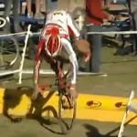 Cyclocross Barrier Fails Video